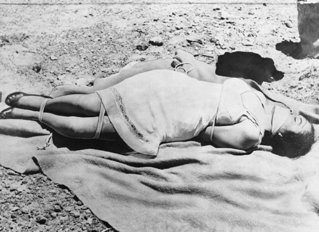 Thi thể của Ruth Mecardo