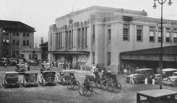 Ga Hiroshima từ năm 1912 - 1945.
