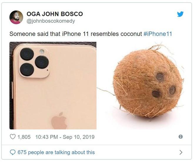 Vừa ra mắt, iPhone 11 đã bị chế nhạo là giống fidget spinner, quả dừa, bóng bowling, thậm chí là cả bếp từ - Ảnh 4.