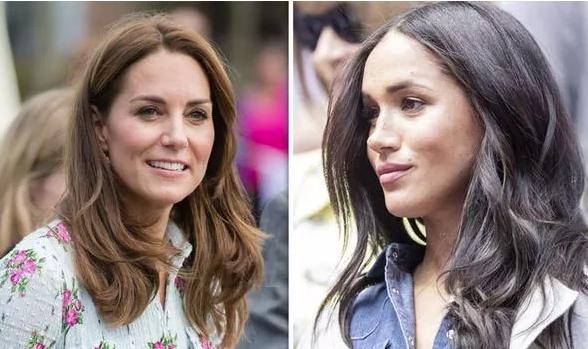 Chuẩn bị chính thức ra mắt bộ sưu tập thời trang mới, kết thúc nghỉ thai sản, Meghan Markle đã bị nói bắt chước chị dâu Kate ở điểm này - Ảnh 2.