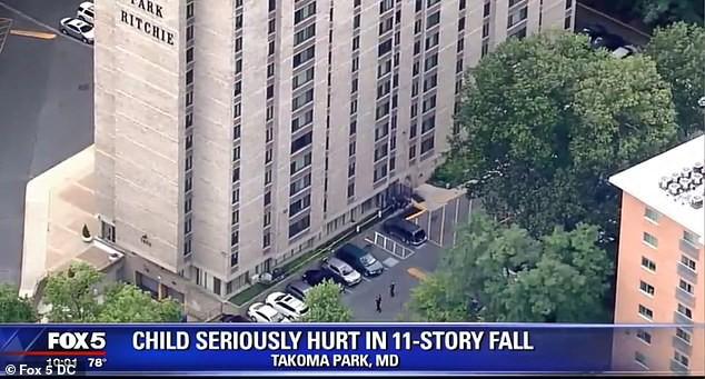 Bé trai 2 tuổi thoát chết trong gang tấc sau khi rơi xuống từ cửa sổ tầng 11, đến bác sĩ còn phải kinh ngạc vì thương tích - Ảnh 3.