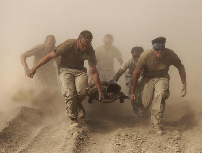 [ẢNH] Những hình ảnh ấn tượng suốt 18 năm nước Mỹ sa lầy trong cuộc chiến Afghanistan - ảnh 13