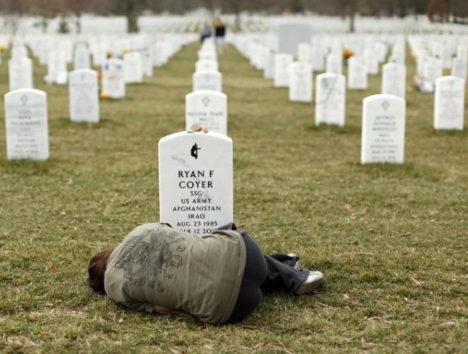[ẢNH] Những hình ảnh ấn tượng suốt 18 năm nước Mỹ sa lầy trong cuộc chiến Afghanistan - ảnh 19