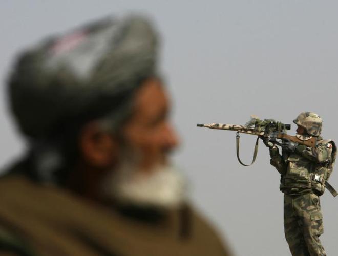 [ẢNH] Những hình ảnh ấn tượng suốt 18 năm nước Mỹ sa lầy trong cuộc chiến Afghanistan - ảnh 3