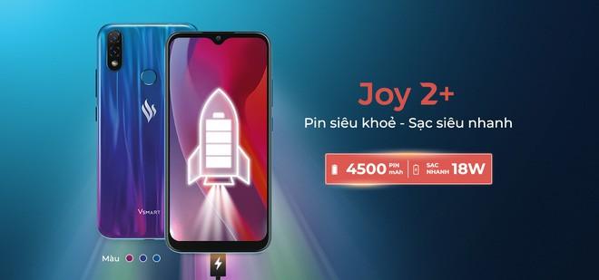 Vsmart ra mắt Joy 2 Plus: Pin 4500mAh, camera kép, giá 2.99 triệu đồng - Ảnh 3.