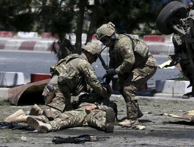 [ẢNH] Những hình ảnh ấn tượng suốt 18 năm nước Mỹ sa lầy trong cuộc chiến Afghanistan - ảnh 23