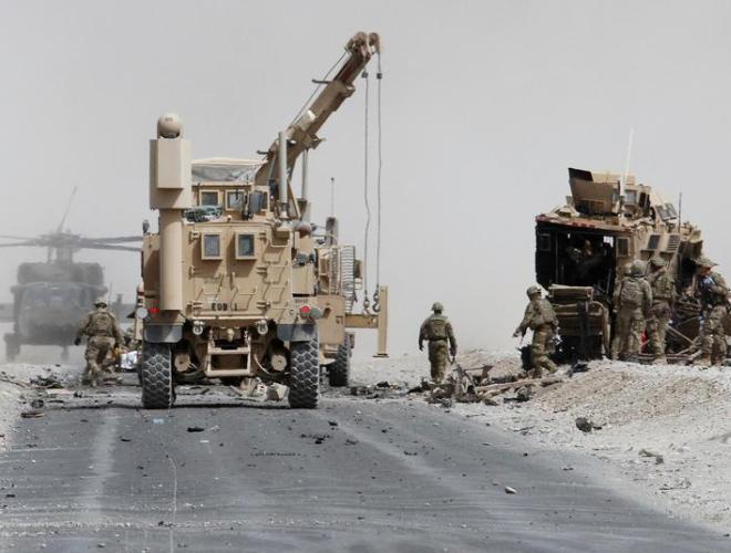 [ẢNH] Những hình ảnh ấn tượng suốt 18 năm nước Mỹ sa lầy trong cuộc chiến Afghanistan - ảnh 26