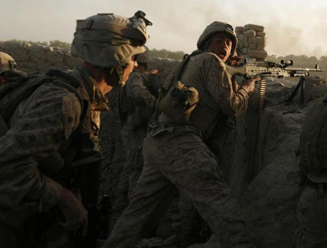 [ẢNH] Những hình ảnh ấn tượng suốt 18 năm nước Mỹ sa lầy trong cuộc chiến Afghanistan - ảnh 5