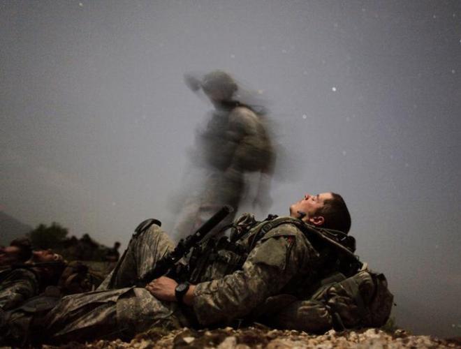 [ẢNH] Những hình ảnh ấn tượng suốt 18 năm nước Mỹ sa lầy trong cuộc chiến Afghanistan - ảnh 7