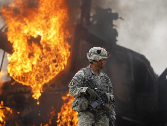 [ẢNH] Những hình ảnh ấn tượng suốt 18 năm nước Mỹ sa lầy trong cuộc chiến Afghanistan - ảnh 10