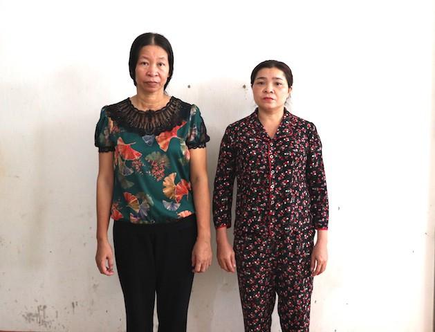 2 phụ nữ bị bắt vì cho vay nặng lãi 2,1 tỷ đồng lấy lại 2,5 tỷ đồng - Ảnh 2.