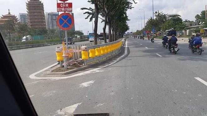 Rào chắn bánh xoay, hệ thống giảm thiệt hại do tai nạn giao thông nay đã xuất hiện ở Việt Nam - Ảnh 1.