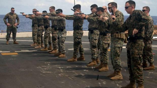 Quân đội Mỹ tiến hành tập trận đổ bộ chiếm đảo 'nhắc nhở' Trung Quốc - ảnh 1
