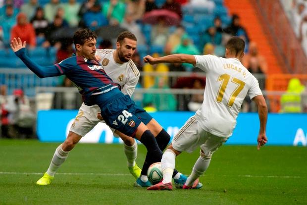Giải VĐQG Tây Ban Nha: Tân binh 100 triệu euro Eden Hazard ra mắt, Real Madrid suýt mất điểm trên sân nhà - Ảnh 1.