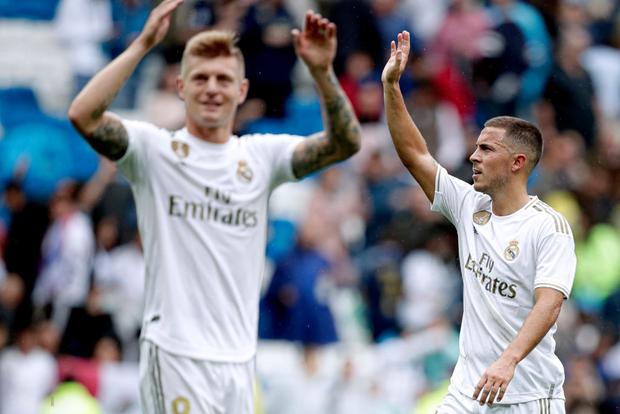 Giải VĐQG Tây Ban Nha: Tân binh 100 triệu euro Eden Hazard ra mắt, Real Madrid suýt mất điểm trên sân nhà - Ảnh 15.