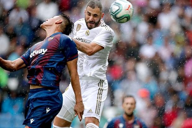 Giải VĐQG Tây Ban Nha: Tân binh 100 triệu euro Eden Hazard ra mắt, Real Madrid suýt mất điểm trên sân nhà - Ảnh 3.