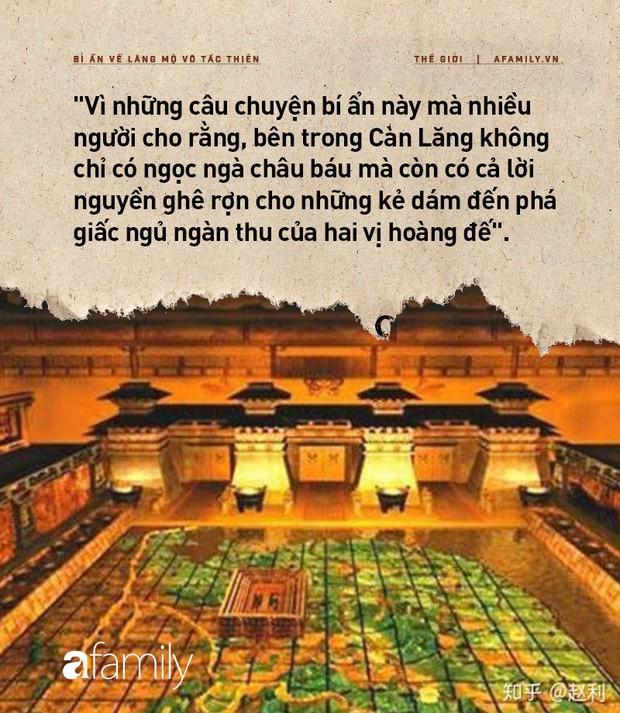 Bí ẩn lăng mộ Võ Tắc Thiên: Nơi ẩn giấu hàng triệu báu vật nhưng không ai đào được và lời nguyền rùng rợn cho những kẻ muốn xâm chiếm - Ảnh 5.