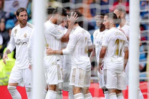 Giải VĐQG Tây Ban Nha: Tân binh 100 triệu euro Eden Hazard ra mắt, Real Madrid suýt mất điểm trên sân nhà - Ảnh 6.