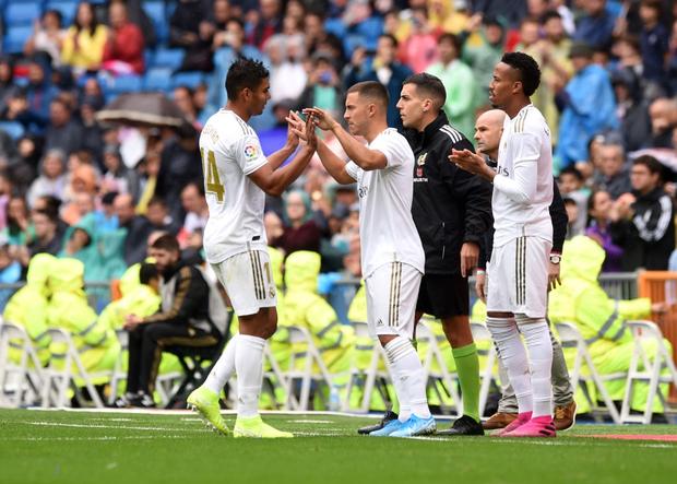Giải VĐQG Tây Ban Nha: Tân binh 100 triệu euro Eden Hazard ra mắt, Real Madrid suýt mất điểm trên sân nhà - Ảnh 10.