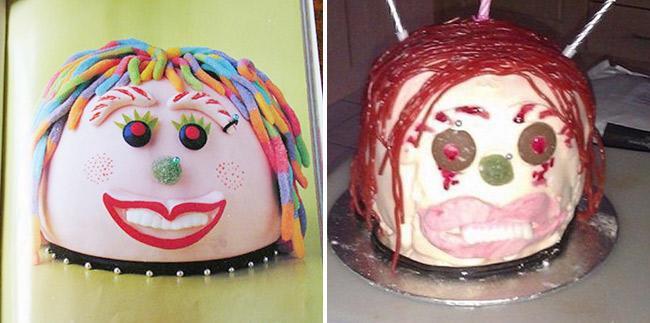 Đặt hình Hello Kitty, cô gái lại nhận về chiếc bánh mặt mèo bị tẩy trang, xấu tới mức không muốn thổi nến - Ảnh 12.