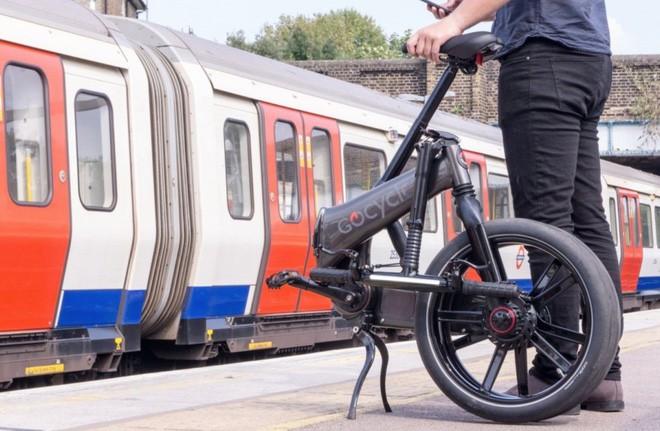 Đây là GoCycle GXi: chiếc xe đạp điện cao cấp như đến từ tương lai, có thể gập lại trong 10 giây, giá ngang Honda SH - Ảnh 1.