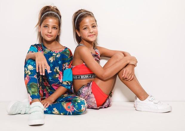 Cặp chị em song sinh đẹp nhất thế giới nay đã lớn: Sở hữu 1,4 triệu follow trên Instagram, mới 9 tuổi đã cá kiếm cả triệu đô mỗi năm - Ảnh 12.