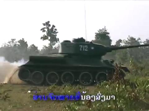 [ẢNH] Xe tăng T-34-85 Nga nhận lại từ Lào biểu diễn sức mạnh trên thao trường - Ảnh 6.
