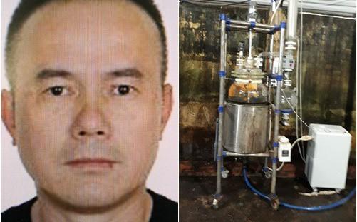 Lý lịch ông trùm xưởng sản xuất ma túy người TQ mới bị bắt tại VN: Tiền án chung thân, bị trấn áp tại TQ