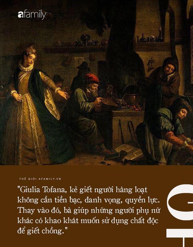 Bí ẩn về liều độc dược sát phu nổi tiếng thời Phục Hưng và nữ phù thủy tiếp tay cho hàng trăm bà vợ hạ độc chồng để thoát khỏi hôn nhân bất hạnh - Ảnh 2.