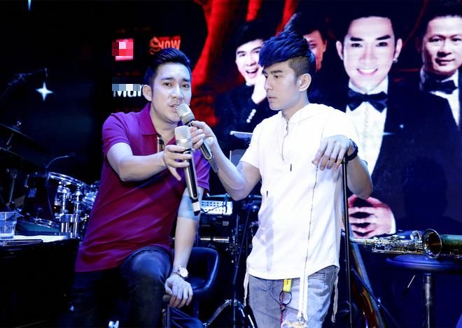 Đan Trường, Lệ Quyên không ngại trời mưa đến tập hát cùng Quang Hà - Ảnh 4.