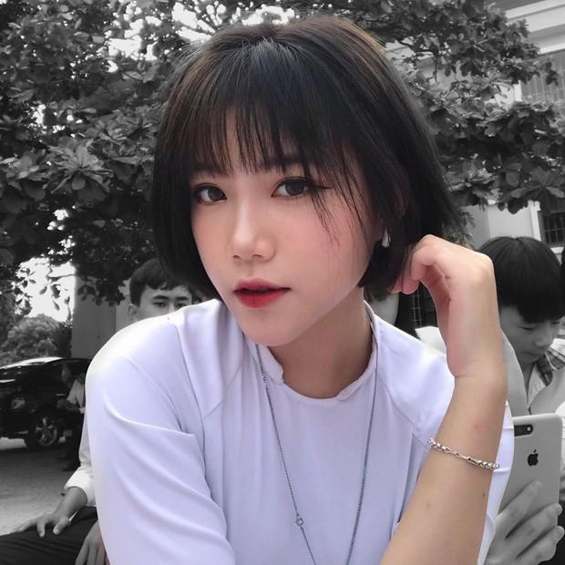 Nữ sinh 16 tuổi được thả tim ầm ầm vì tóc ngắn cá tính và gương mặt y như ulzzang Hàn - Ảnh 2.