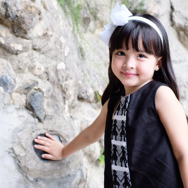 Nhan sắc con gái 'mỹ nhân đẹp nhất Philippines' khiến nhiều người tan chảy - Ảnh 9.