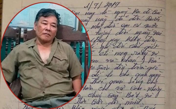 CA Thái Nguyên: Có thể trong lúc không đòi được nợ nên nghi phạm viết tâm thư trước khi gây ra thảm án