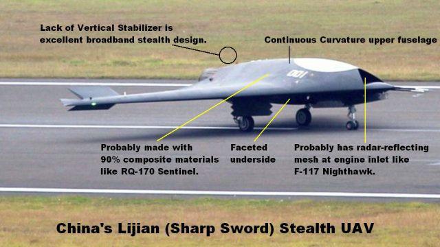 UAV Lợi Kiếm xuất hiện rầm rộ: TQ vạch áo cho người xem lưng yếu điểm của tàu sân bay? - Ảnh 2.