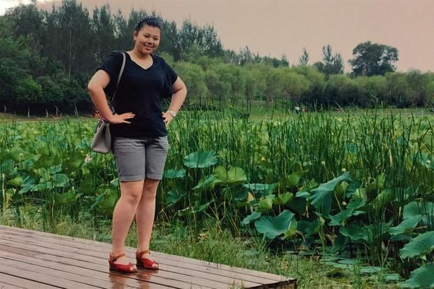 Giảm shock 36kg, cô gái từng mắc hội chứng sợ soi gương hóa nữ thần MXH - Ảnh 2.