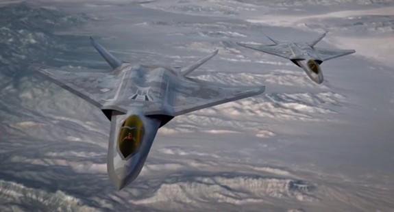 Mỹ phát triển máy bay chiến đấu thay thế F-22 và F-35 - ảnh 1