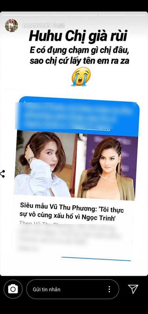 Trước Vũ Thu Phương, Ngọc Trinh chẳng ngại đấu khẩu với cả dàn sao Việt - Ảnh 2.