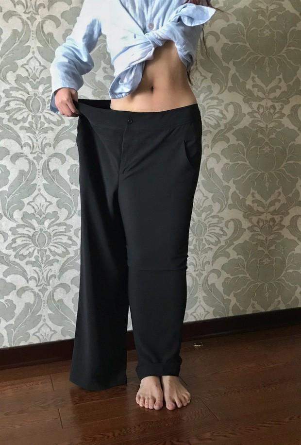 Giảm 'shock' 36kg, cô gái từng mắc hội chứng sợ soi gương hóa nữ thần MXH - ảnh 4