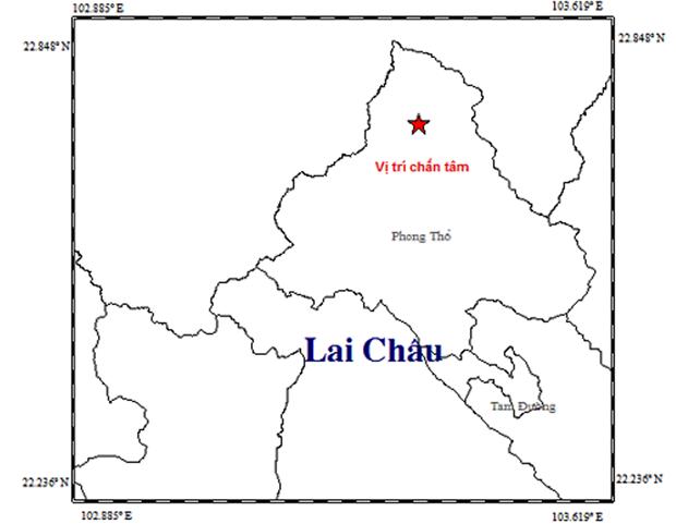 Động đất 3,8 độ richter ở Phong Thổ, Lai Châu - Ảnh 1.