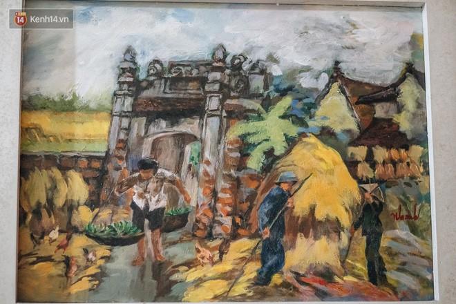 Người hoạ sĩ đằng sau bức tranh nổi tiếng giữa bờ Hồ: Tiền bao nhiêu cũng hết, nhưng để lại tác phẩm muôn đời cho nhân dân mới quý giá - Ảnh 4.