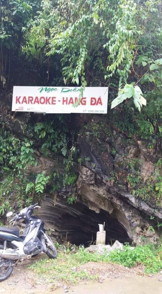 Xôn xao hình ảnh quán karaoke trong hang đá, nhìn bên ngoài chẳng thể tưởng tượng nổi - ảnh 1