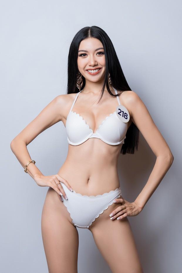 3 mỹ nhân được yêu thích nhất Hoa hậu Hoàn vũ: Thúy Vân - Tường Linh quá sexy, nữ sinh Bách Khoa sinh năm 2000 mới bất ngờ! - Ảnh 1.