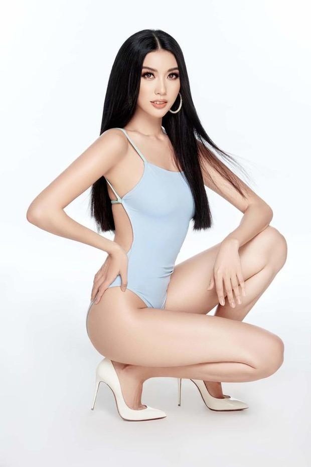 3 mỹ nhân được yêu thích nhất Hoa hậu Hoàn vũ: Thúy Vân - Tường Linh quá sexy, nữ sinh Bách Khoa sinh năm 2000 mới bất ngờ! - Ảnh 2.