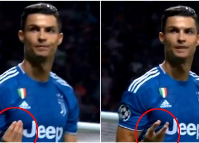 Bị chửi như tát nước vào mặt, Cristiano Ronaldo có hành động khó lý giải - Ảnh 1.