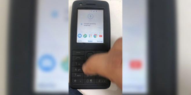 """Lộ diện điện thoại """"cục gạch"""" Nokia chạy Android, có cả Google Assistant - Ảnh 1."""