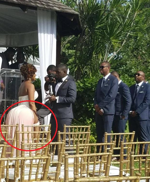 Chú rể buồn bã đăng ảnh lễ cưới thiếu 70 khách nhưng vòng 3 kỳ lạ của cô dâu lại gây chú ý hơn cả - Ảnh 1.