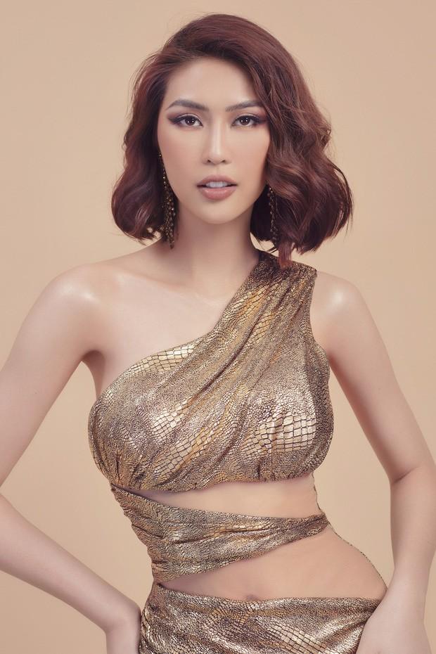 3 mỹ nhân được yêu thích nhất Hoa hậu Hoàn vũ: Thúy Vân - Tường Linh quá sexy, nữ sinh Bách Khoa sinh năm 2000 mới bất ngờ! - Ảnh 13.