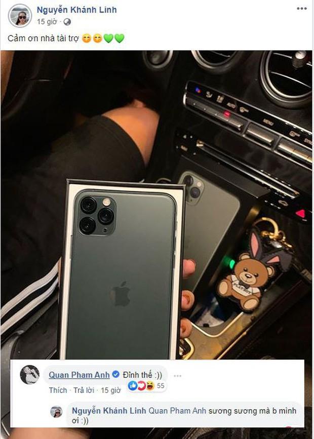 Bùi Tiến Dũng chi số tiền khủng sắm iPhone 11 Pro Max tặng vợ, Quân A.P cũng phải trầm trồ khen đỉnh - Ảnh 1.