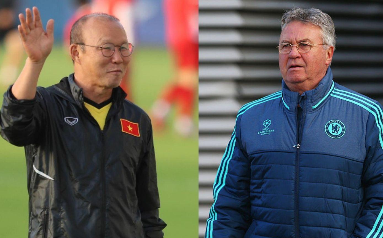 """""""Ngồi mát ăn bát vàng"""", Guus Hiddink khiến Trung Quốc thèm thuồng khi nhìn vào thầy Park"""