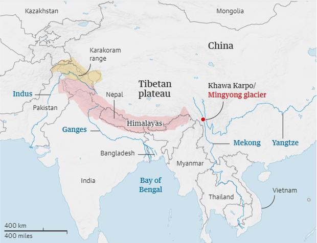 """Hàng triệu người dân châu Á gặp nguy vì băng tan ở vùng """"cực thứ 3"""" - Ảnh 1."""